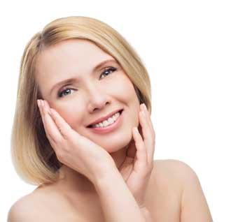 face woman diathermy